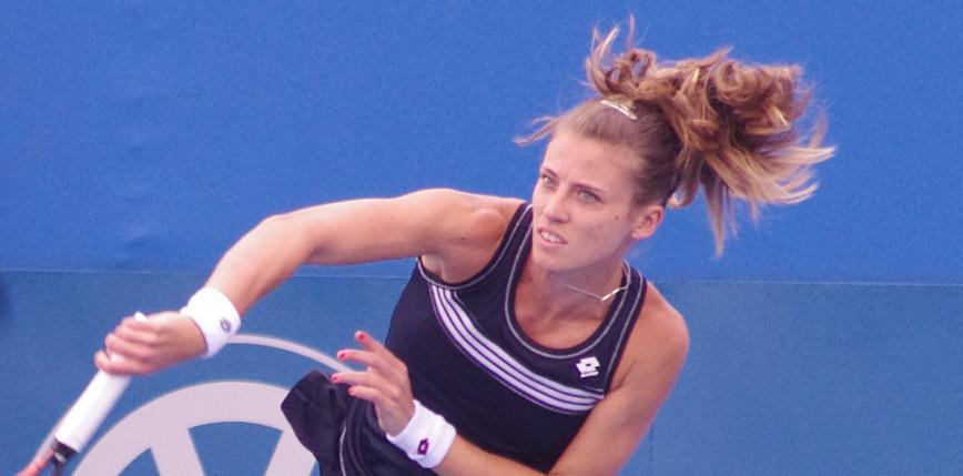 Tenis - Indian Wells: porażka Alicji Rosolskiej