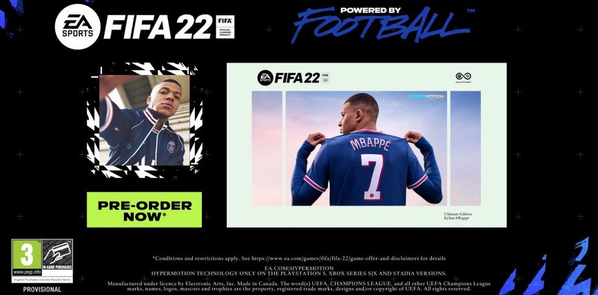 FIFA 22 oficjalnie zapowiedziana