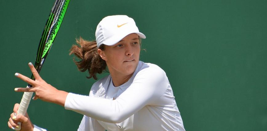 Tenis - Wimbledon: koniec turnieju dla Igi Świątek
