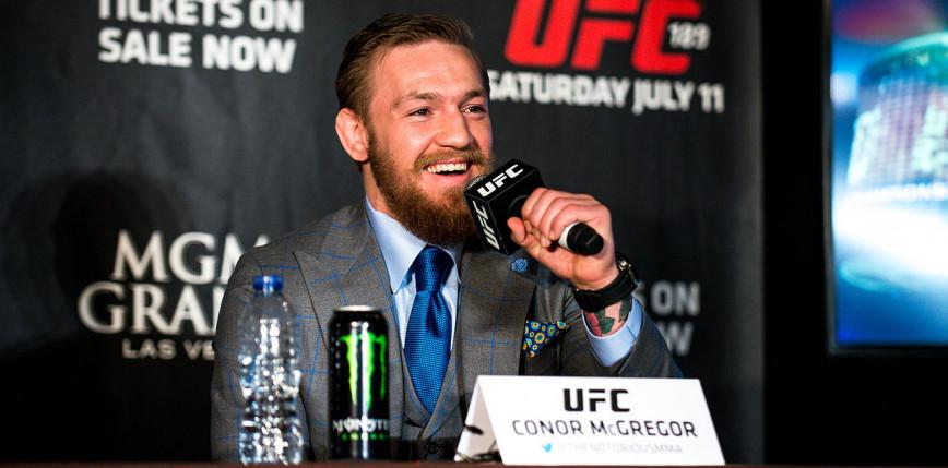 """MMA: Conor McGregor pewny zwycięstwa na gali UFC 257 – """"Znokautuję go w 60 sekund""""!"""