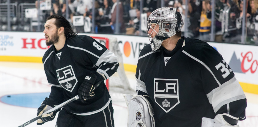 NHL: Kings lepsi od Coyotes, grad goli w Minnesocie
