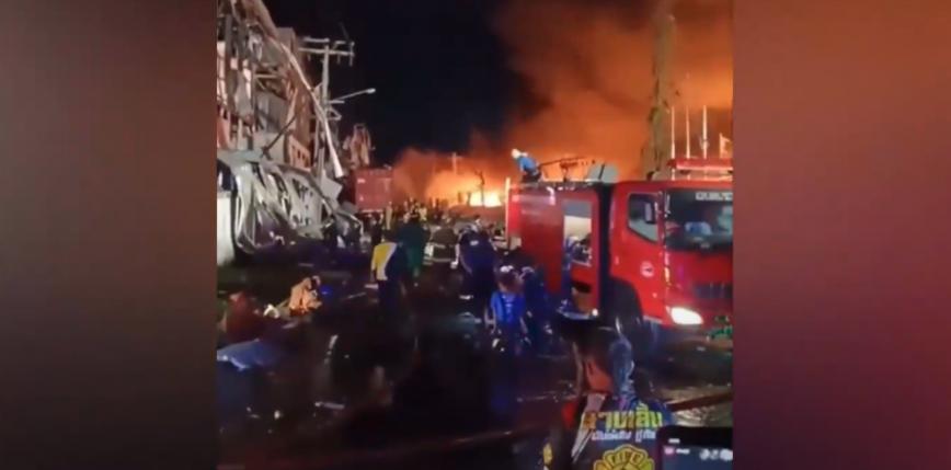 Tajlandia: ewakuowano tysiące osób z powodu eksplozji w fabryce
