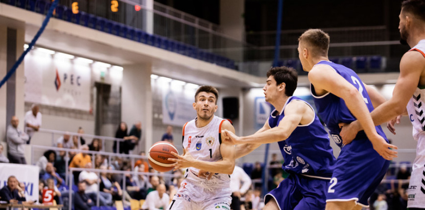 Koszykówka - 1. liga: emocje w Tychach, Górnik lepszy od Kotwicy