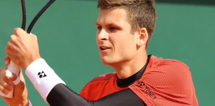 Tenis - ATP San Diego: Hurkacz odpada z turnieju. Karacew lepszy od Polaka