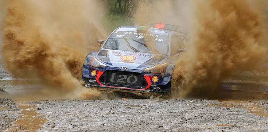 WRC: Thierry Neuville utrzymuje prowadzenie w Rajdzie Safari