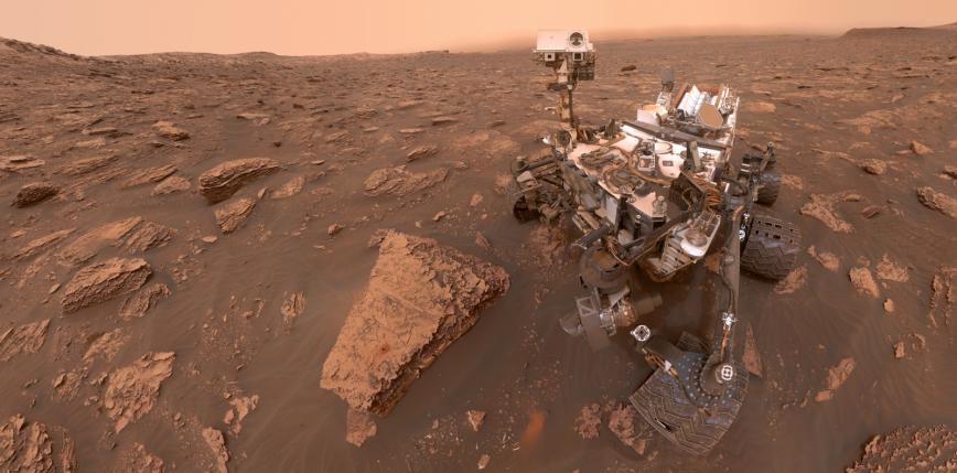 Ponad 8 lat na Marsie. Co udało się odkryć łazikowi Curiosity?