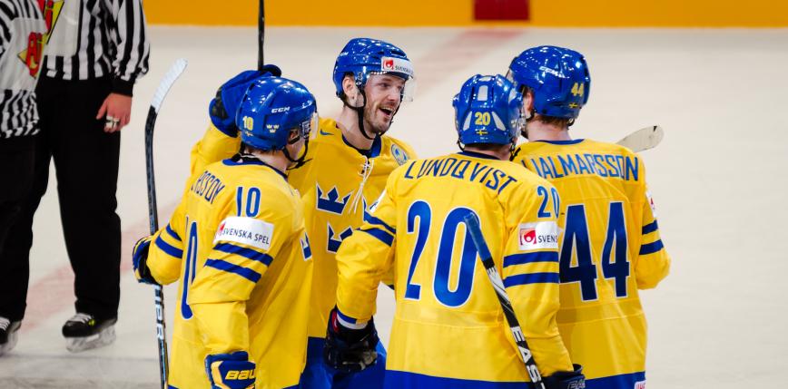 Hokej – MŚ: Szwecja wróciła do gry, Wielka Brytania bliska sensacji