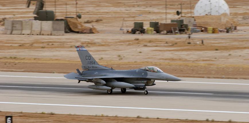 Irak: atak rakietowy na bazę lotniczą