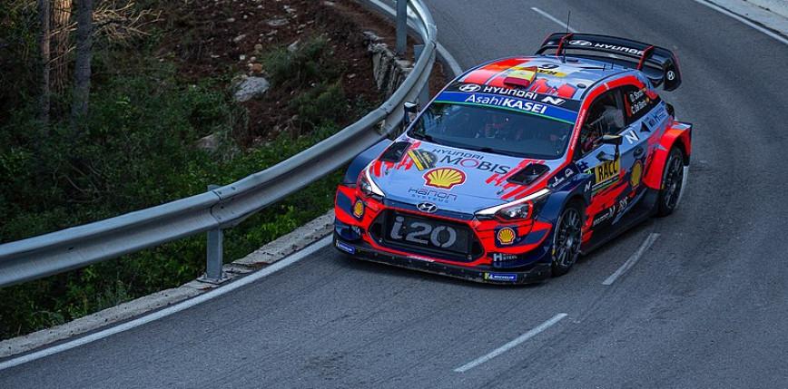 WRC: Thierry Neuville liderem po pierwszym dniu Rajdu Chorwacji
