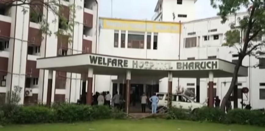 Indie: pożar w szpitalu. Zginęło co najmniej 18 pacjentów