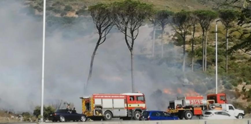 Kapsztad: pożar na zboczu Góry Stołowej [AKTUALIZACJA]