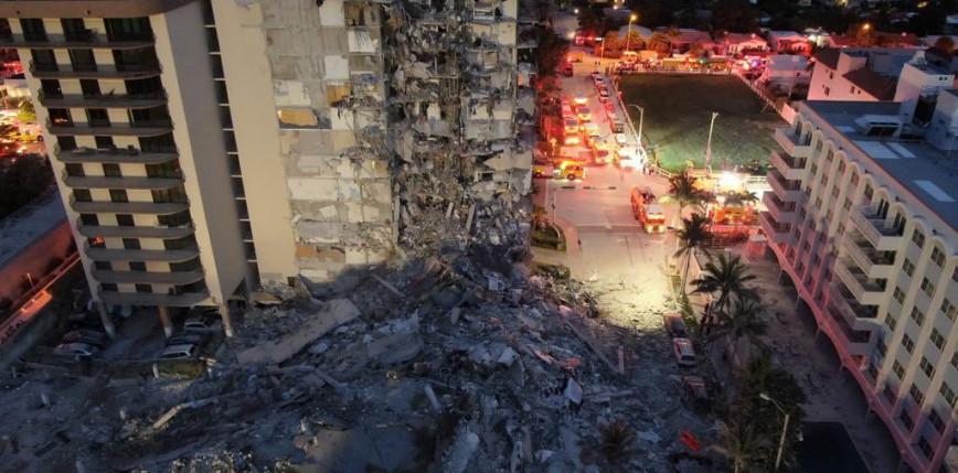 USA: wyburzono pozostałości zawalonego apartamentowca