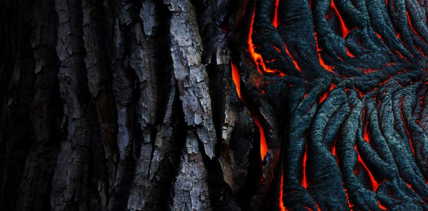 Niezwykłe nagranie erupcji wulkanu