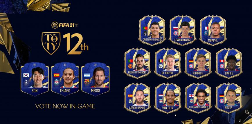 FIFA 21 TOTY: głosowanie na dwunastego zawodnika TOTY!