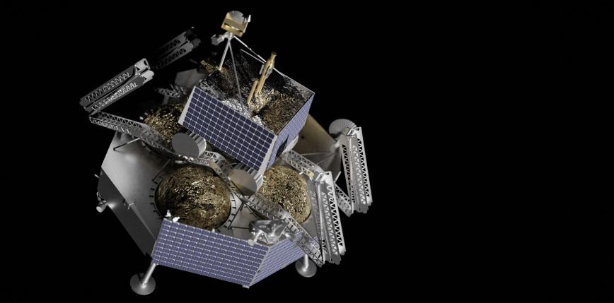 Falcon Heavy wyniesie lądownik księżycowy