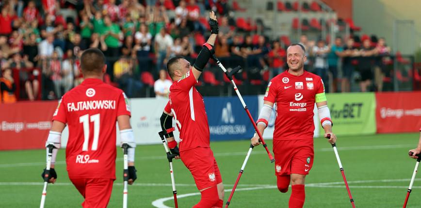 Amp Futbol - ME: Polska - Izrael 8:0 [FOTORELACJA]
