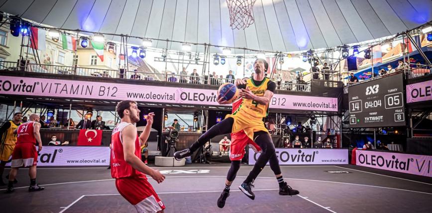 Koszykówka 3x3 - turniej kwalifikacyjny IO: rywalizacja w Graz rozpoczęta