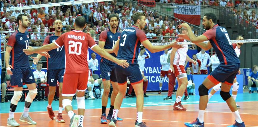 Siatkówka - Olimpijskie dwunastki: reprezentacja Tunezji