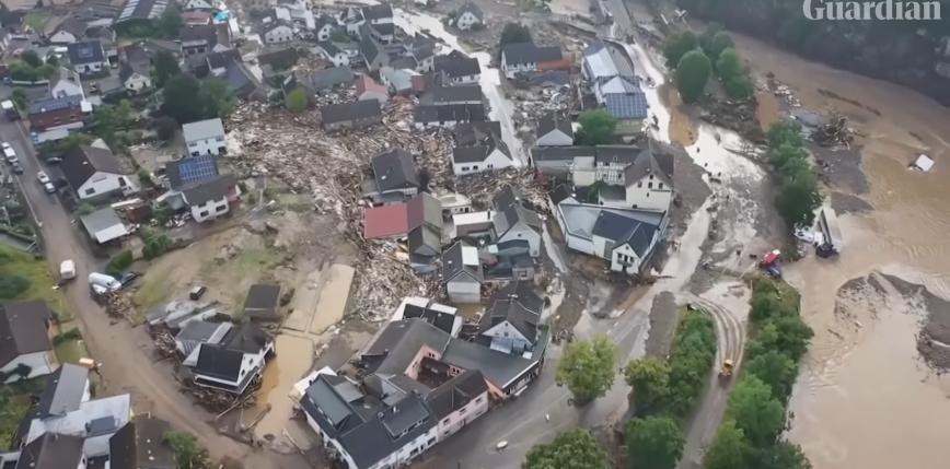 Kilkadziesiąt ofiar śmiertelnych w wyniku ogromnych powodzi w Europie Zachodniej [AKTUALIZACJA]