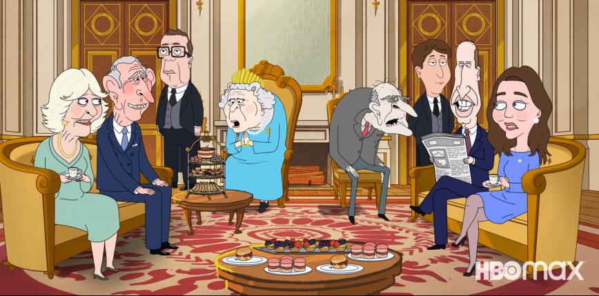 """,,The Prince"""" - animacja HBO o brytyjskiej rodzinie królewskiej"""
