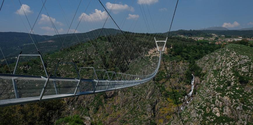 Portugalia: powstał najdłuższy na świecie most wiszący