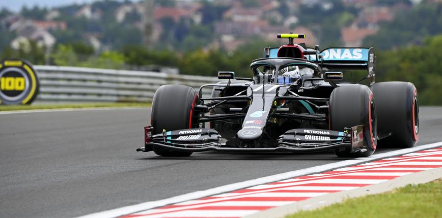 Formuła 1: zespół Mercedes z pole position do wyścigu na Węgrzech