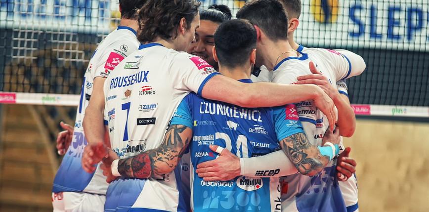 PlusLiga: siatkarze Ślepska zakończyli sezon na siódmym miejscu