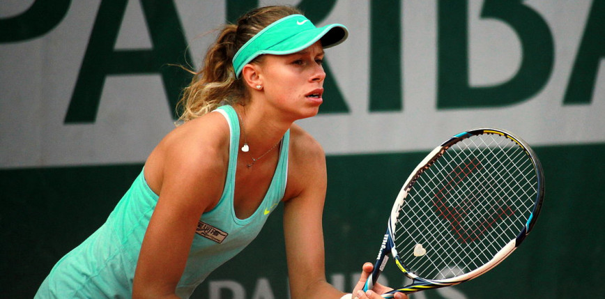 Tenis - WTA Strasburg: Linette z awansem do półfinału