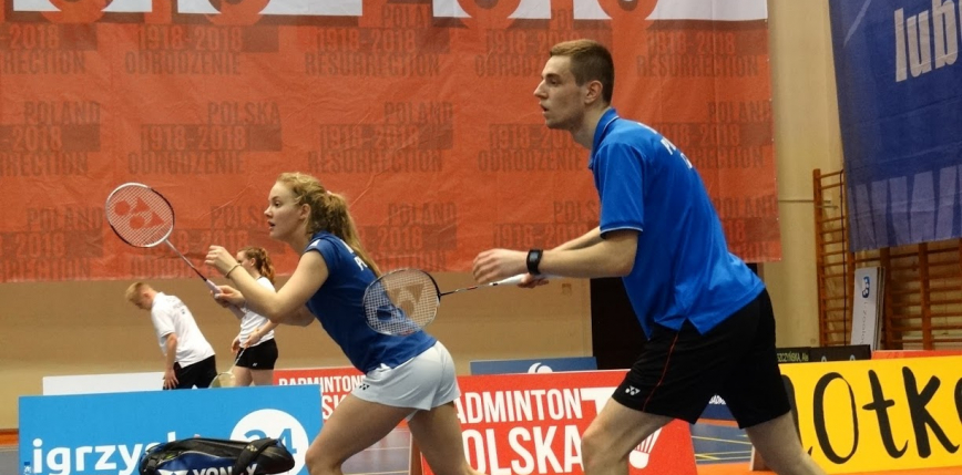 Badminton - Kharkiv International: mikst w ćwierćfinale