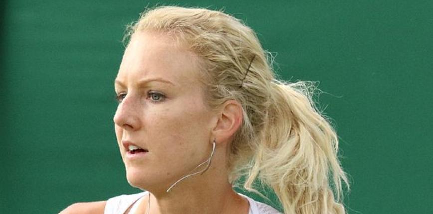 Tenis - WTA Gdynia: Urszula Radwańska bez awansu