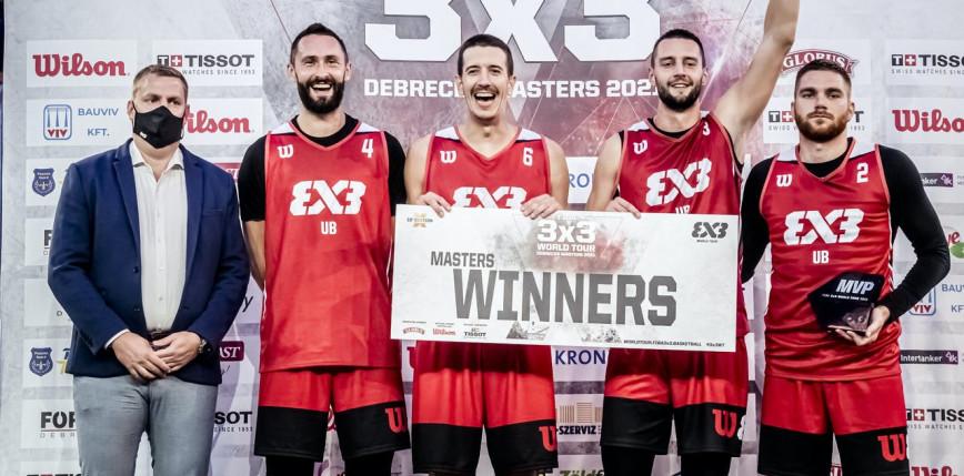 Koszykówka 3x3 - World Tour: Ub zwycięskie w Debreczynie, Polacy nie przeszli kwalifikacji