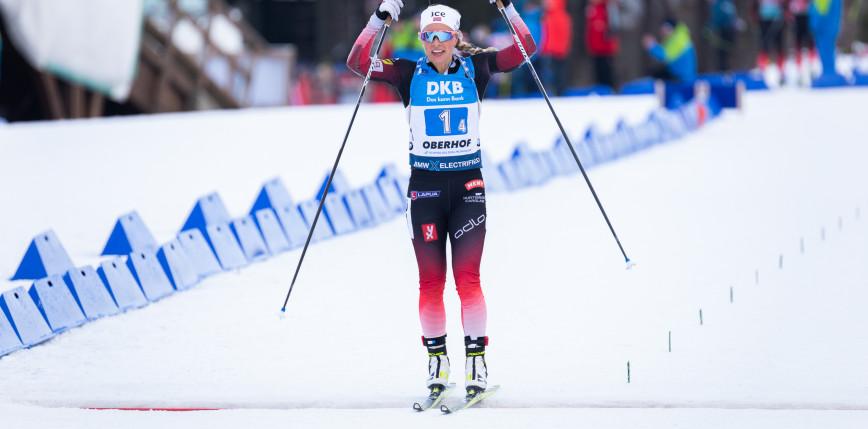 Biathlon - PŚ: kolejne zwycięstwo Eckhoff, dobry start Hojnisz-Staręgi!