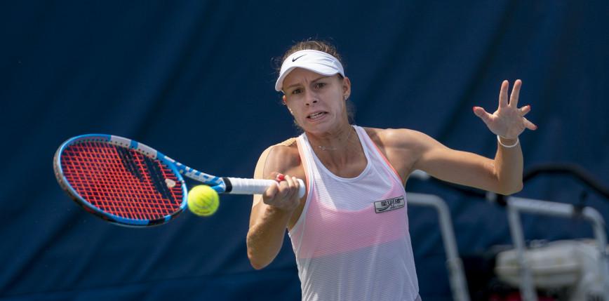 Tenis - WTA Chicago: awans Linette po dobrym meczu otwarcia