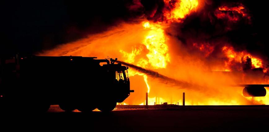 Irak: pożar w szpitalu dla pacjentów z COVID-19, co najmniej 82 ofiar śmiertelnych
