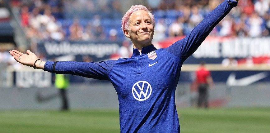 Tokio 2020 - Piłka nożna kobiet: Amerykanki z brązem, fantastyczne bramki Rapinoe!