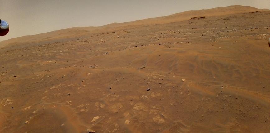 Marsjański helikopter uniknął rozbicia