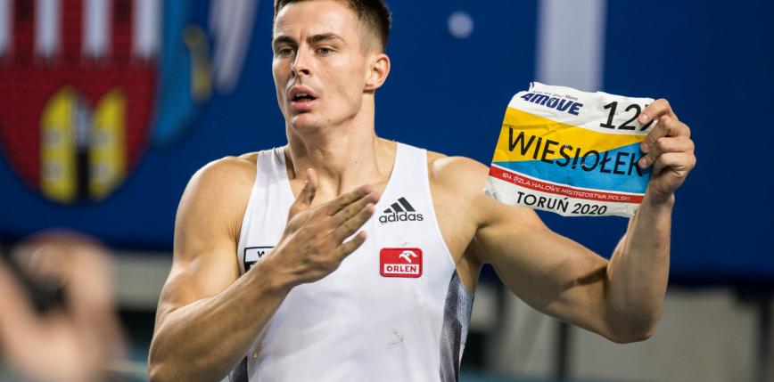 Lekkoatletyka: Paweł Wiesiołek z rekordem życiowym i mistrzostwem Polski