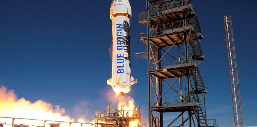 Blue Origin przeprowadzi dziś kolejną próbę boostera New Shepard