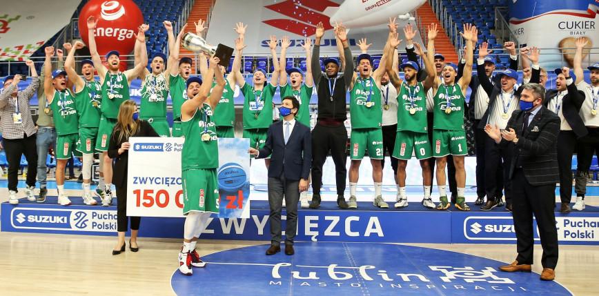 Koszykówka - Superpuchar Polski: pierwsze trofeum dla Zastalu Zielona Góra