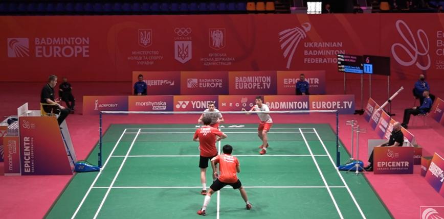 Badminton - ME: szybka porażka debla