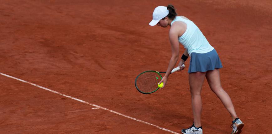 Tenis - WTA Madryt: świetna gra i łatwa wygrana Świątek w I rundzie