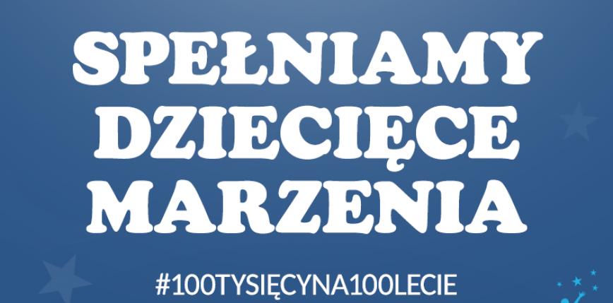 """""""100 tysięcy na 100-lecie"""" - akcja charytatywna Wydawnictwa Nasza Księgarnia"""