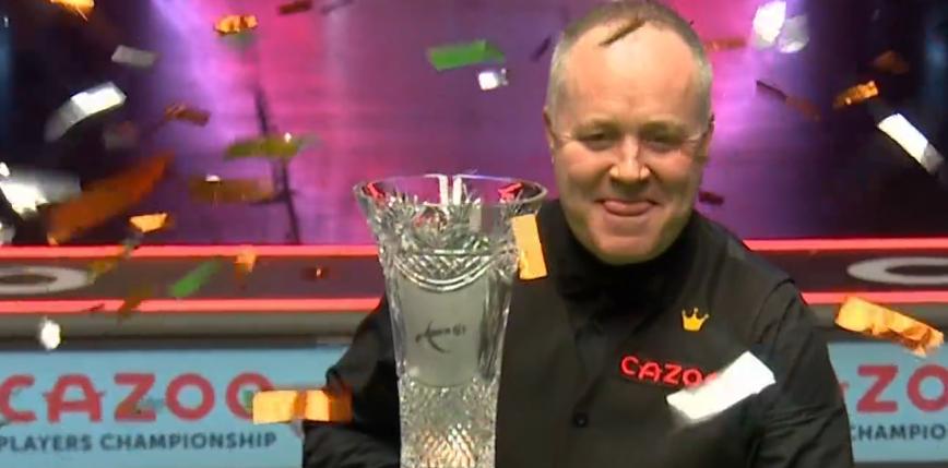 Snooker - Players Championship: kosmiczny snooker Higginsa