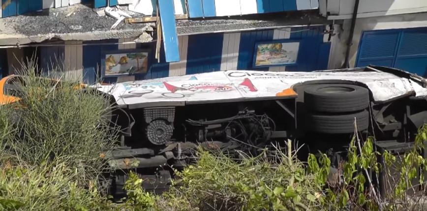 Włochy: wypadek minibusa na wyspie Capri