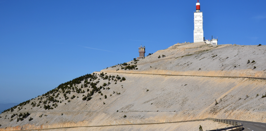 Tour de France: van Aert zdobywa Mont Ventoux