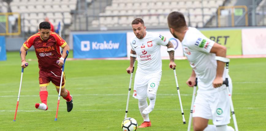 Amp Futbol - ME: porażka Polaków. Zagrają o brąz.