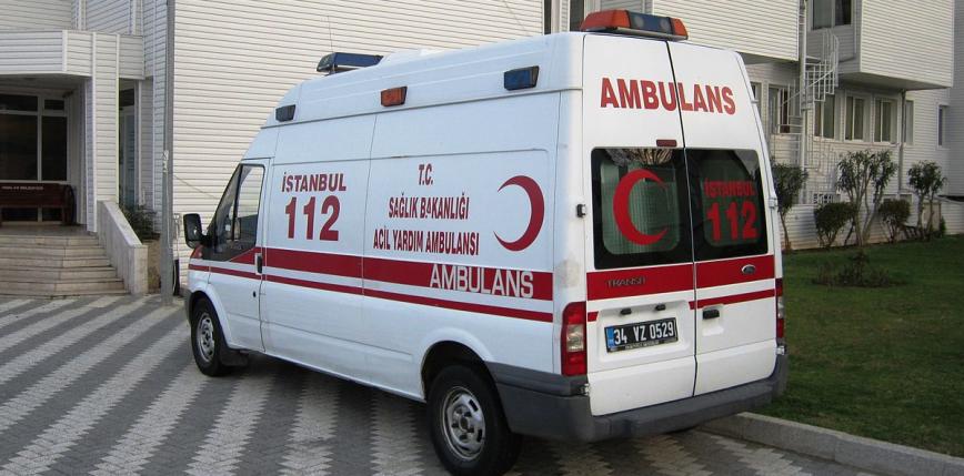 Turcja: wypadek autokaru, w którym przewożono imigrantów