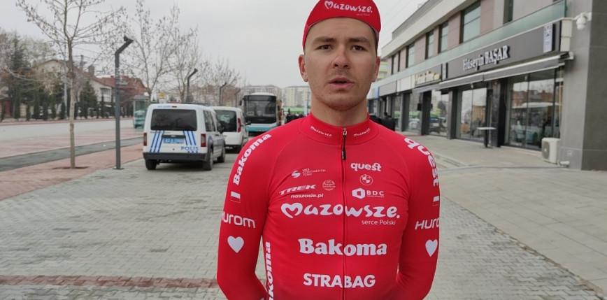 Kolarstwo szosowe: Tobiasz Pawlak drugi na 1. etapie Tour of Mevlana