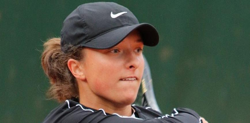 Tenis - WTA Ostrawa: Iga Świątek z awansem do półfinału