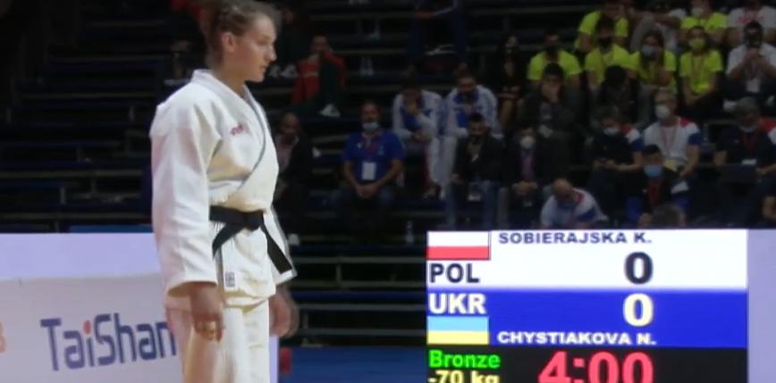 Judo - MŚJ: brązowy medal Katarzyny Sobierajskiej!
